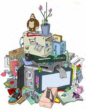 Städa och rensa hemma